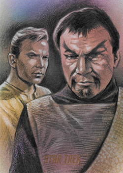 Huy Truong Sketch - Kirk and Kor