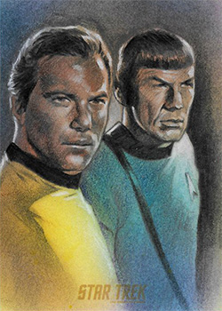 Huy Truong Sketch - Kirk and Spock