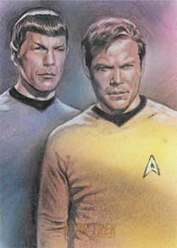 Huy Truong Sketch - Kirk and Spock #3