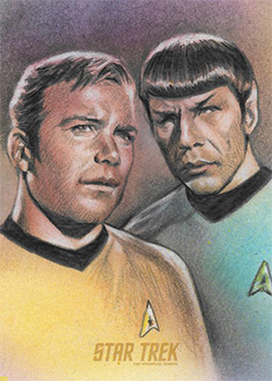 Huy Truong Sketch - Kirk and Spock #4