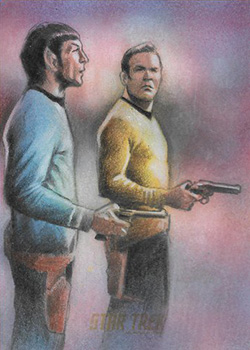 Huy Truong Sketch - Kirk and Spock #5
