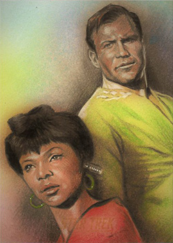 Huy Truong Sketch - Kirk and Uhura