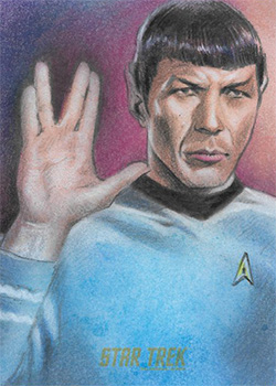 Huy Truong Sketch - Spock #1