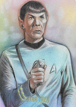 Huy Truong Sketch - Spock #2