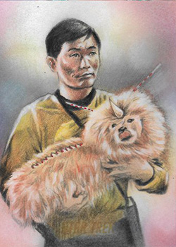 Huy Truong Sketch - Sulu and Alfa 117 Canine