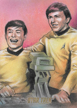 Huy Truong Sketch - Sulu and Chekov