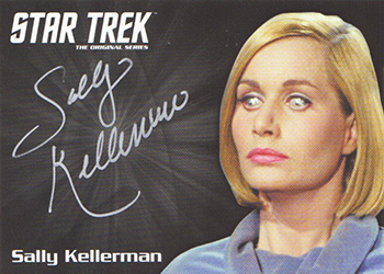TOS Captain's Silver Series Autograph - Sally Kellerman