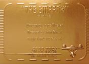 Gold Card G63 - The Empath