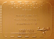 Gold Card G66 - Day of the Dove