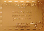 Gold Card G67 - Plato's Stepchildren