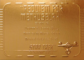 Gold Card G76 - Requiem for Methuselah
