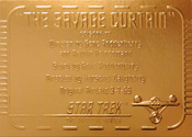 Gold Card G77 - The Savage Curtain