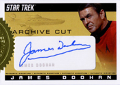 James Doohan Cut Signature Card