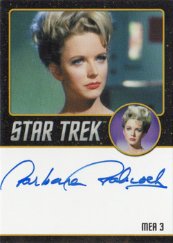 Black Border Autograph - Barbara Babcock