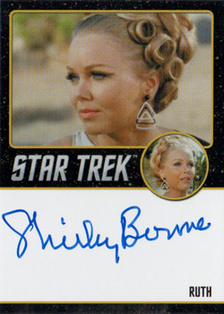 Black Border Autograph - Shirley Bonne