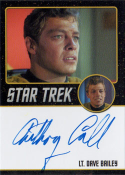 Black Border Autograph - Anthony Call