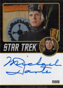 Black Border Autograph - Michael Dante