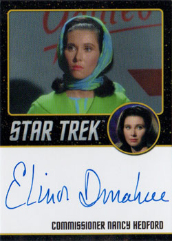 Black Border Autograph - Elinor Donahue