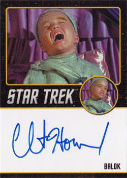 Black Border Autograph - Clint Howard