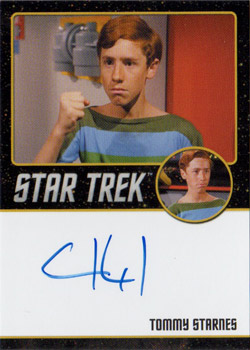 Black Border Autograph - Sean Kenney