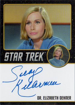 Black Border Autograph - Sally Kellerman