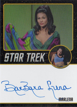 Black Border Autograph - BarBara Luna