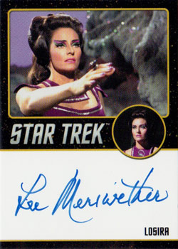 Black Border Autograph - Lee Meriwether
