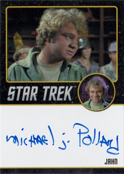 Black Border Autograph - Michael J Pollard