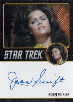 Black Border Autograph - Joan Swift