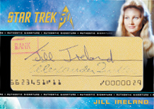 Cut Signature Card - Jill Ireland