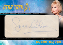 Cut Signature Card - Susan Oliver