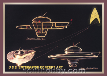 TOS 50th Enterprise Concept Art E2
