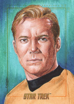 Kristin Allen AR Sketch - Captain James T. Kirk