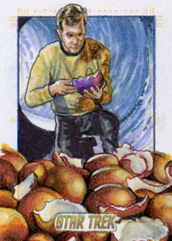 Adam & Bekah Cleveland Sketch - Kirk and the Horta Eggs