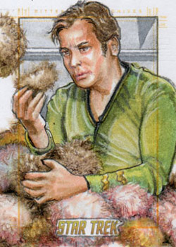 Adam & Bekah Cleveland Sketch - Kirk and Tribbles