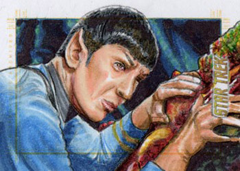 Adam & Bekah Cleveland Sketch - Spock and the Horta