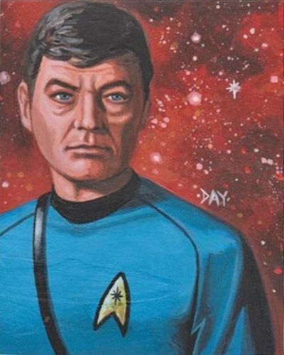 David Day AR Sketch - Dr. McCoy