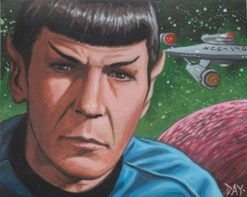 David Day AR Sketch - Spock