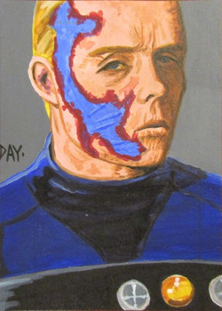 David Day Sketch - Captain Christopher Pike