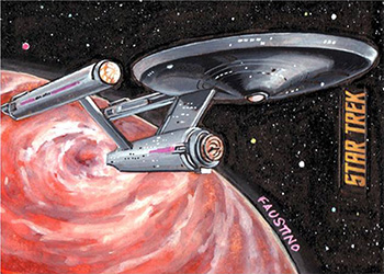 Norman Jim Faustino AR Sketch - U.S.S. Enterprise NCC-1701