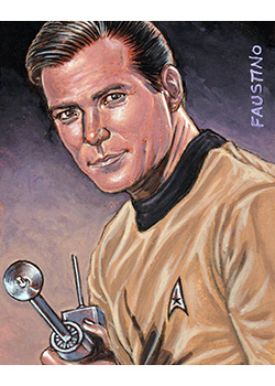 Norman Faustino Sketch - James T. Kirk