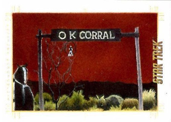 Andrew Garcia Sketch - The OK Corral