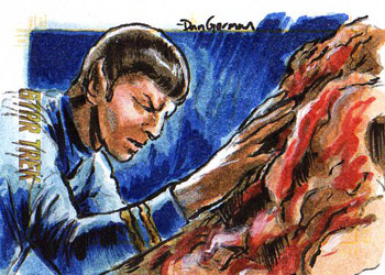 Daniel Gorman AR Sketch - Spock and the Horta