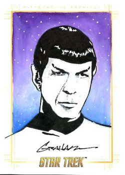 Kevin Graham Sketch - Spock