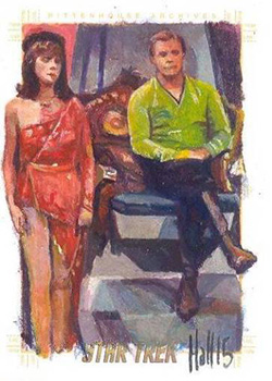 Charles Hall Sketch - Alice Series and Kirk