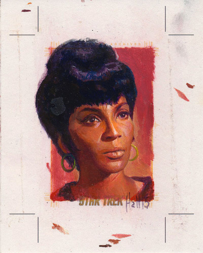 Charles Hall AR Sketch - Uhura