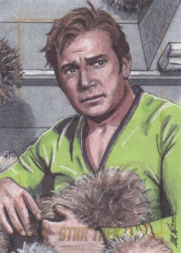 Scott Houseman AR Sketch - Captain James T. Kirk