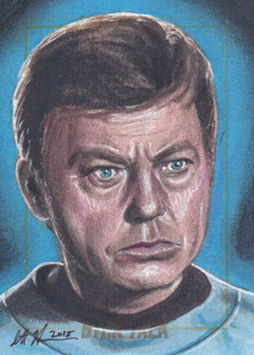 Scott Houseman AR Sketch - Dr. McCoy