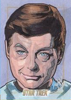 TOS 50th Sketch - Jason Kemp