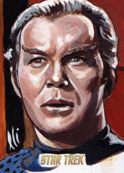 Lee Lightfoot AR Sketch - Kirk as a Romulan